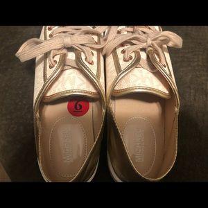 Michael Kors Pink Tennis Shoes